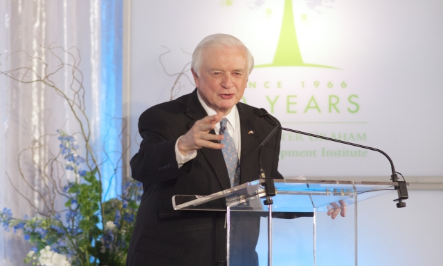 FPG 50th Anniversary- Gov. Hunt