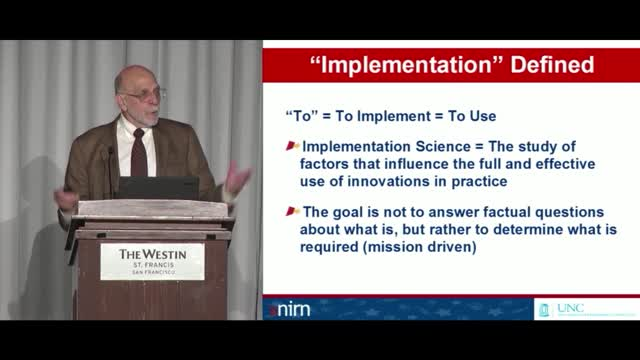 Video 1.4: Research to Practice and Implementation Science